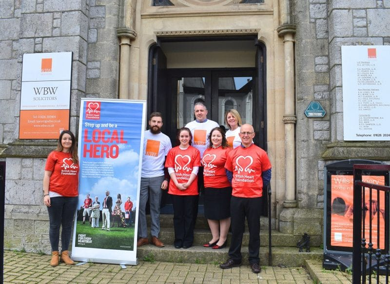 British Heart Foundation and WBW Solicitors join forces